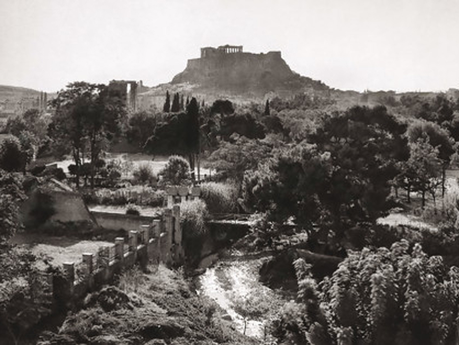 Frederic Boissonnas, Athens in 1910. Photographic Archive of the National Historical Museum