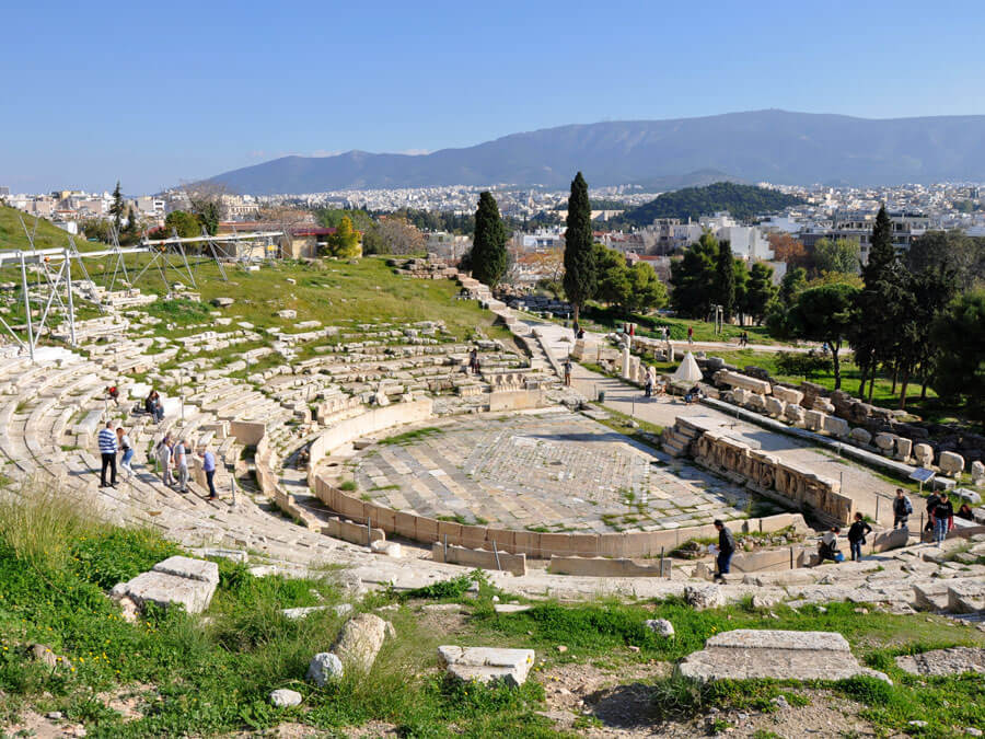 Theater of Dionysus under the Acropolis