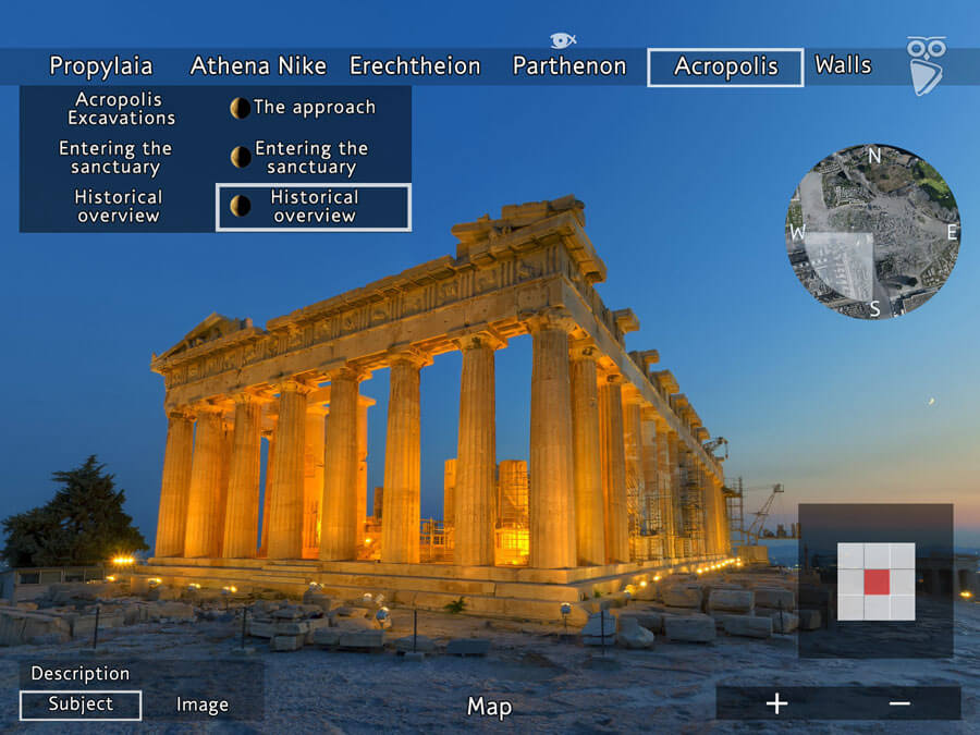 Virtual tour of the Acropolis