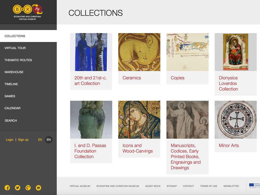 Virtual Collection of Byzantine and Christian Museum of Athens