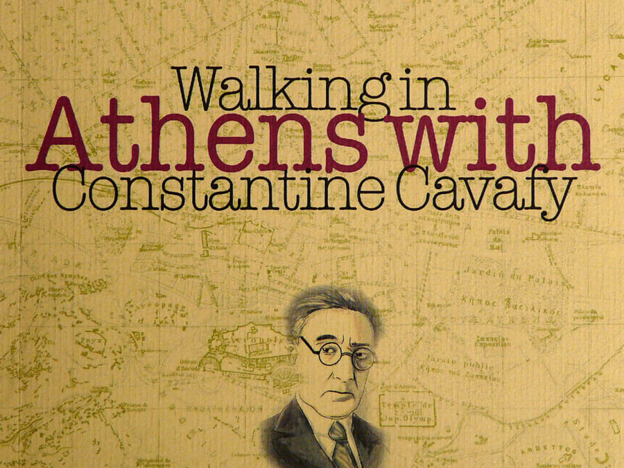 Cover of Walking in Athens with Constantine Cavafy