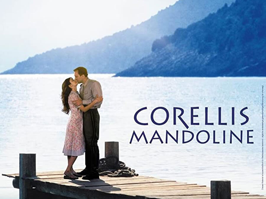 Nicolas Cage and Penelope Cruz in Captain Corelli's Mandolin