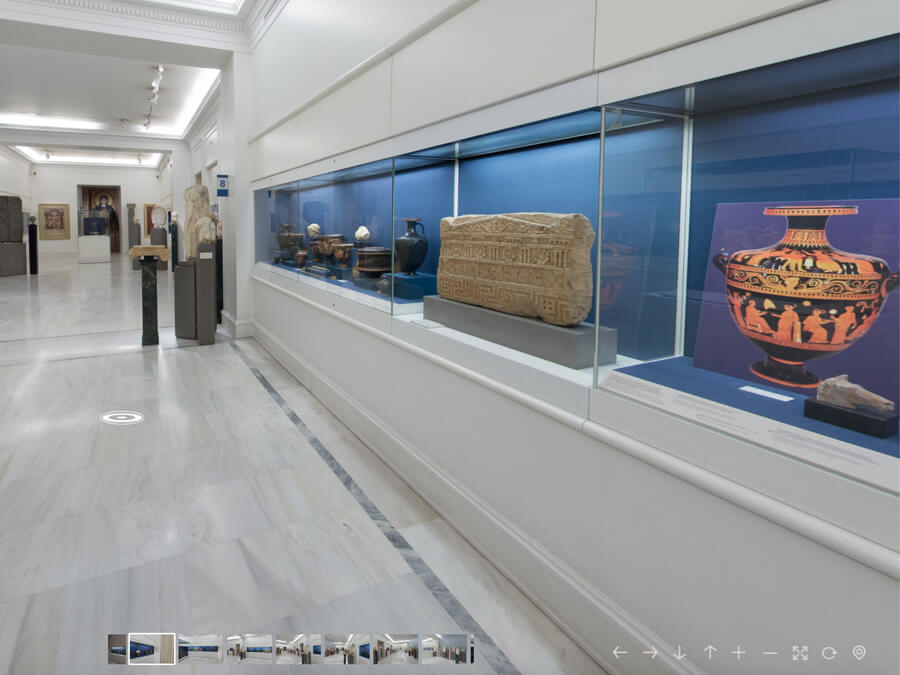Virtual tour of Benaki Museum